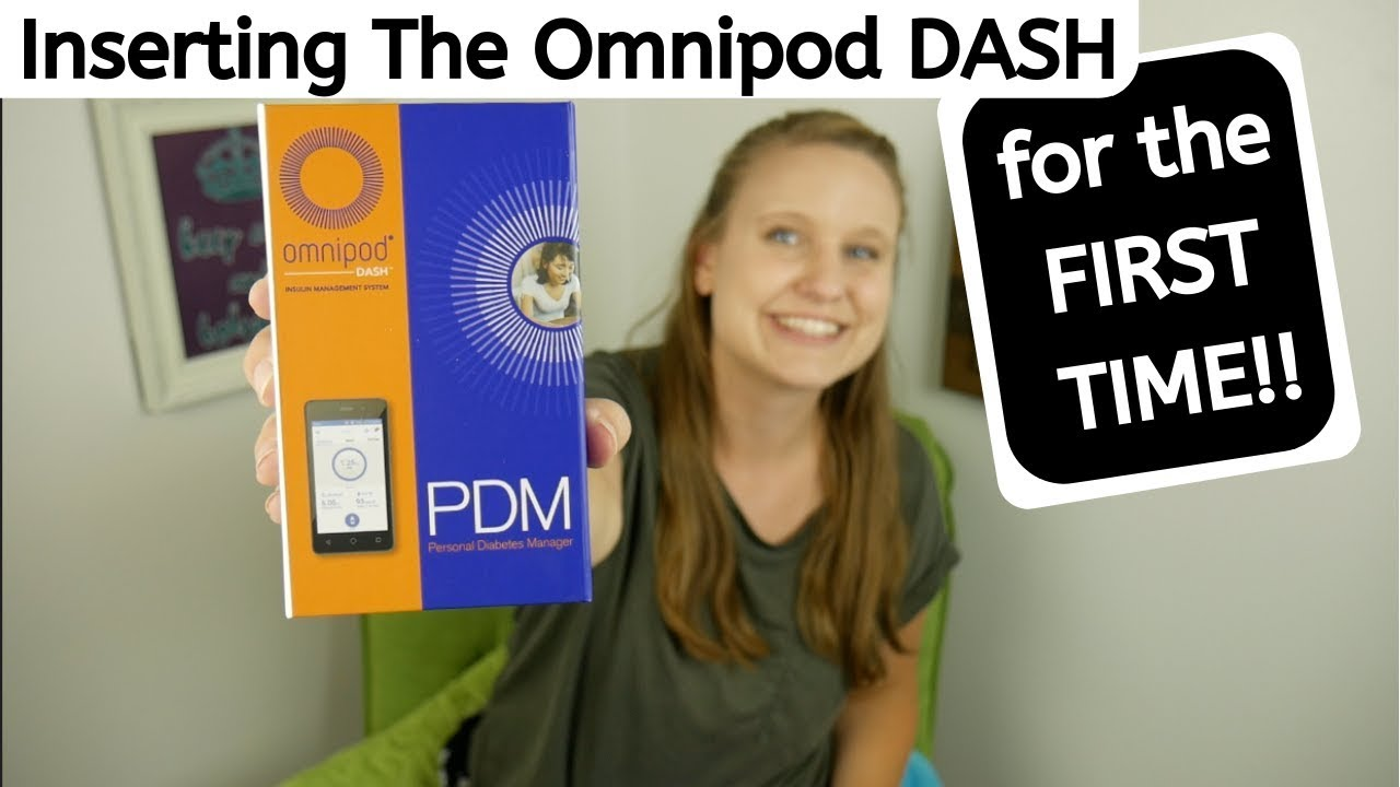 Inserting The Omnipod DASH Insulin Pump for the FIRST TIME!!