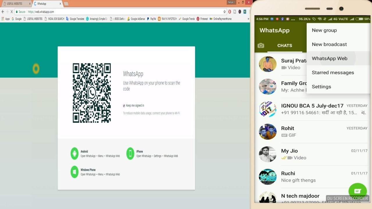 WhatsApp Web : How to Use On PC [Easy Steps] - YouTube