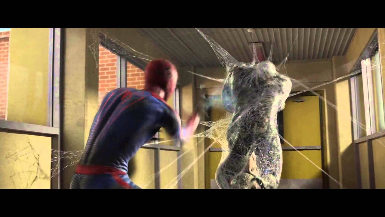 Spider Man vs.The Lizard School Fight Scene The Amazing ...