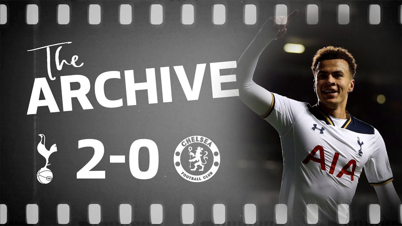 Download THE ARCHIVE | SPURS 2-0 CHELSEA | Dele Alli scores two identical goals at White Hart Lane!