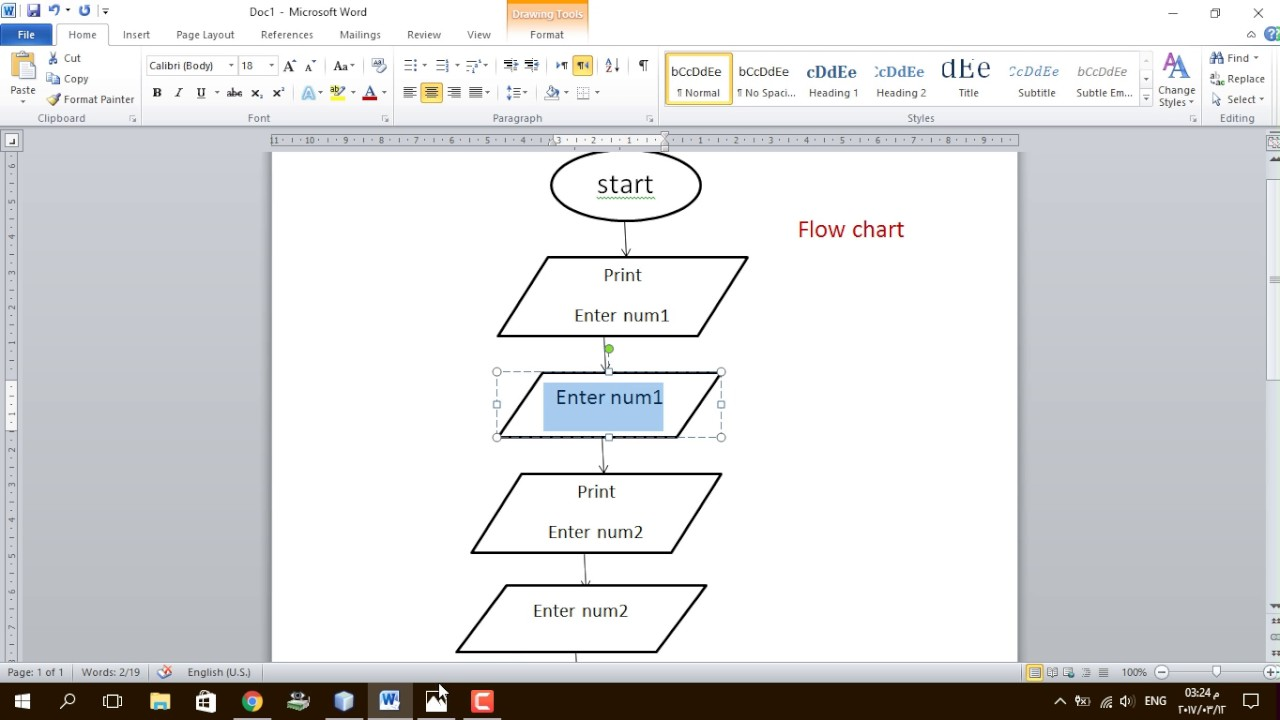 1 Flow Chart Input Output Data Types Youtube