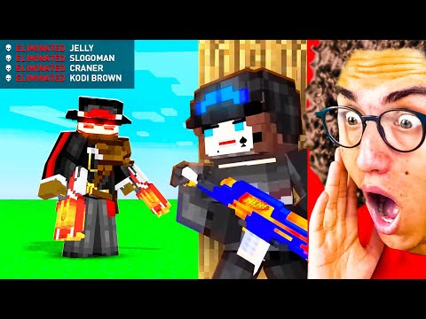 Watching The ULTIMATE MINECRAFT NERF ANIMATIONS!