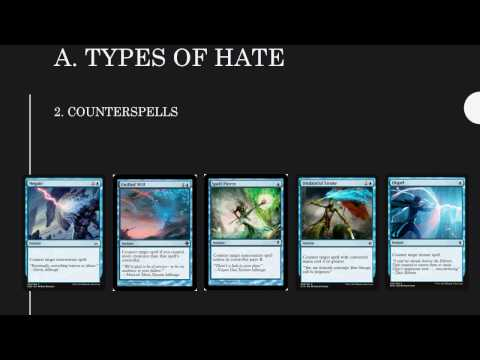 Playing (and sideboarding) against Hate Cards with Gifts Storm - Part 1