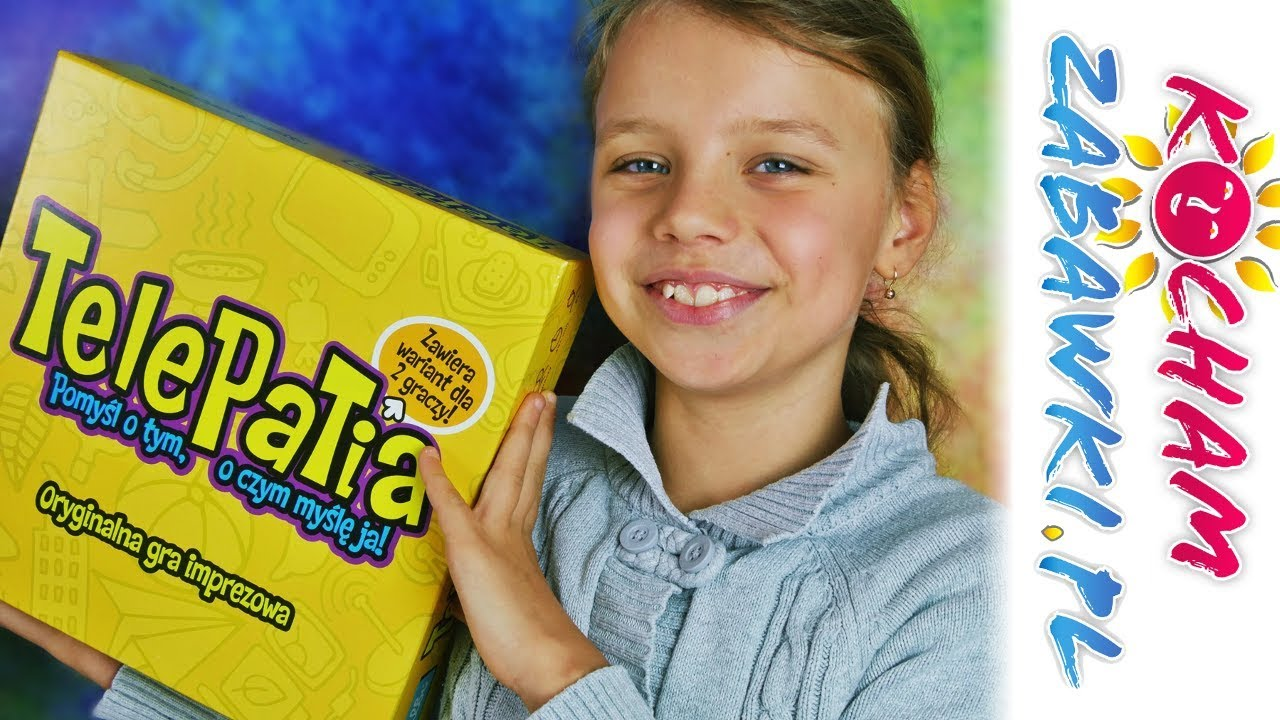 Telepatia • Gra imprezowa • Challenge z Natalią • Albi • Gry dla dzieci