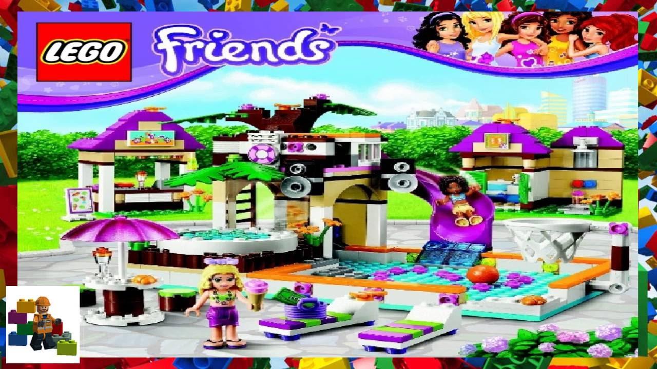 Lego Instructions Lego Friends 41008 Heartlake City Pool Book 2