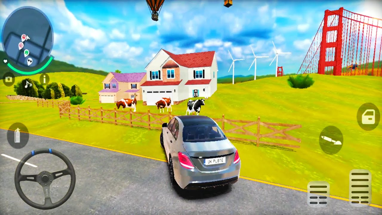 Go To Car Driving 3 #4: Personal House and Vehicle - Huge Open City - Android Gameplay