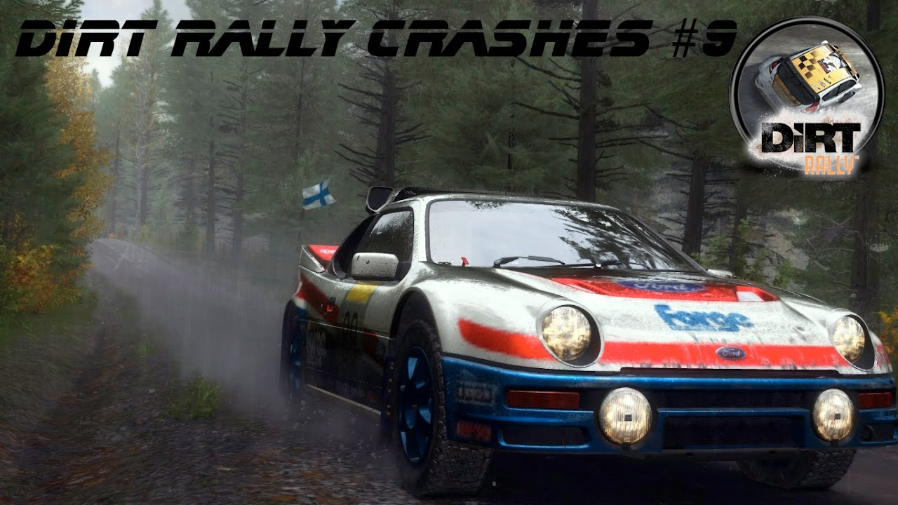 dirt rally crash compilation 9 youtube. Black Bedroom Furniture Sets. Home Design Ideas