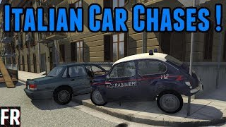 BeamNG Drive - Italian Car Chases !