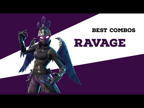 best-combos-|-ravage-|-fortnite-skin-review
