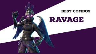 Best Combos | Ravage | Fortnite Skin Review