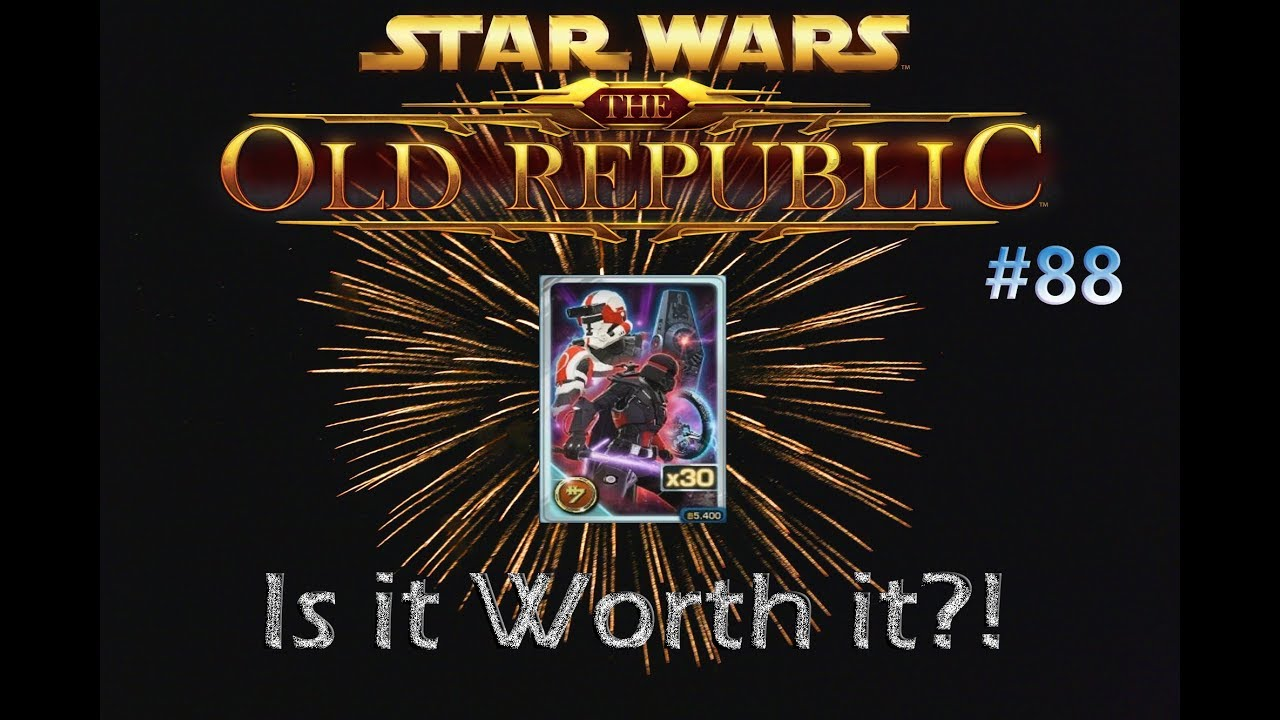 SWTOR - Is it worth it?! #88 Ultimate Hypercrate Opening - Absolute Profit!!