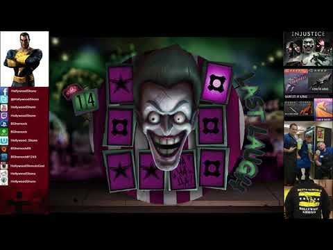 Injustice Gods Among Us iOS - 23 Last Laugh Tickets, Lexcorp Gear available