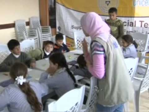 UNICEF And ECHO Help Gaza Children Cope With Stress