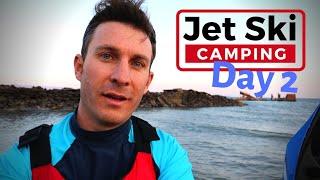 Camping Solo on Prison Island - Jet Ski Adventure