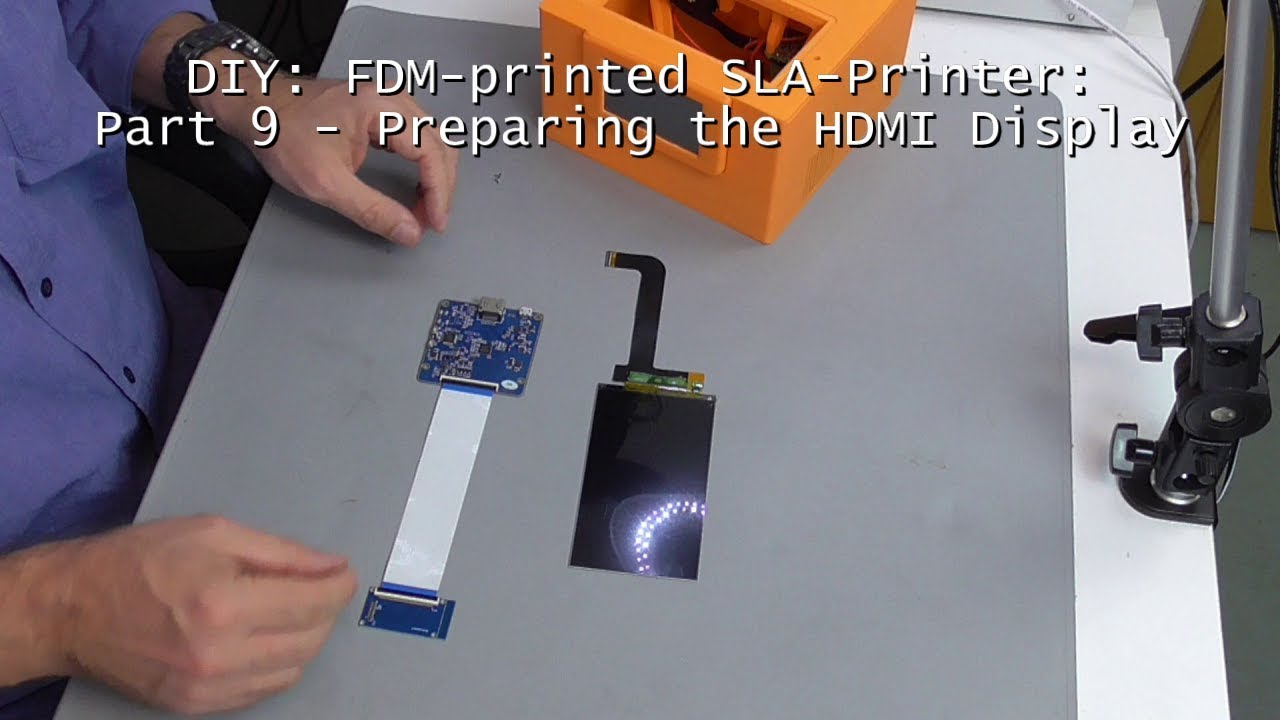 Impressora 3D de SLA Open Source | RepRap pt