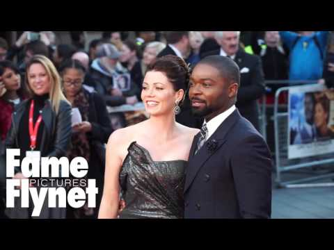 Celebrities Arrive On The Red Carpet For The Premiere Of A United Kingdom In London