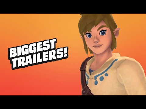 11 Biggest Game Trailers & Announcements From Nintendo Direct
