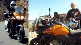 Suzuki V-Strom 650 2012, Adventure ride in Gran Canaria. Pozo de Las Nieves.