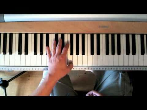 Stride piano - basics of the left hand stride