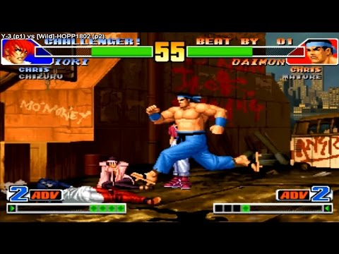 ✔  KoF 98 - Y-3 (South Korea) vs [Wild]-HOPP1802 (South Korea) 킹 오브 파이터 98