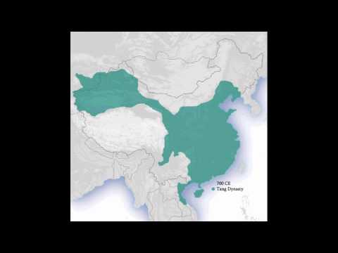 China - 3,000 Years of History in a Minute