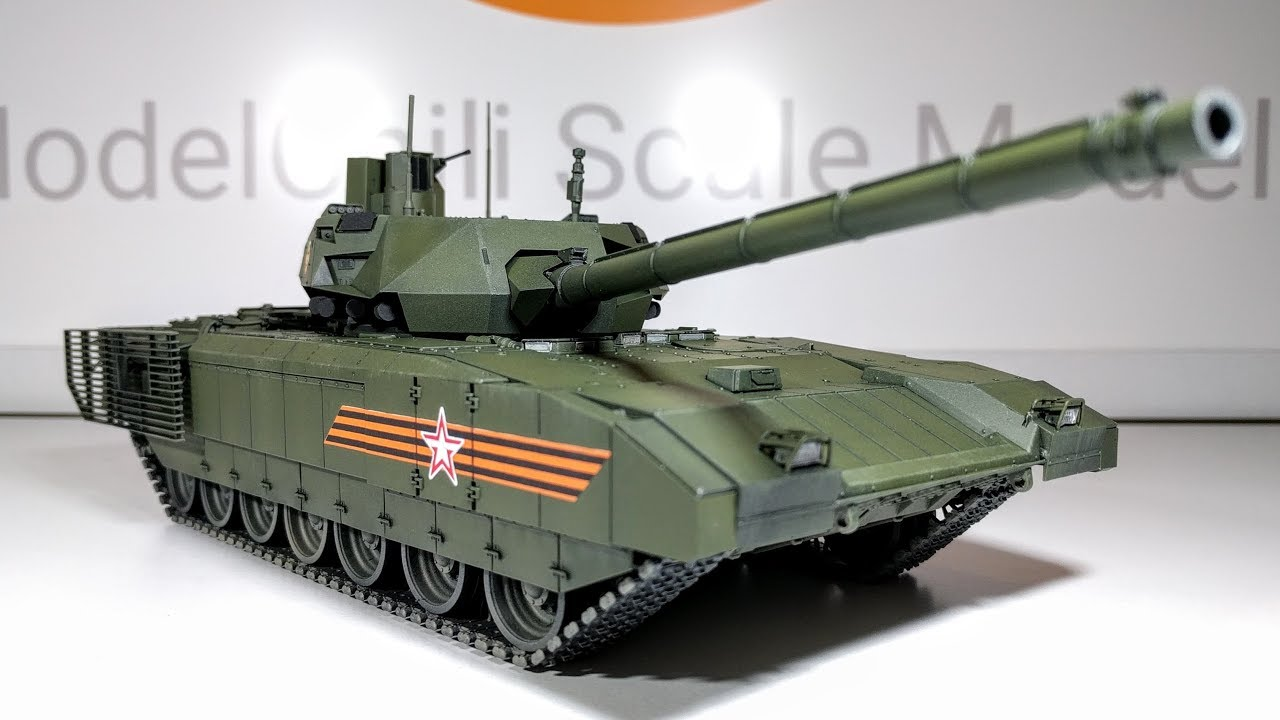 building zvezda 39 s 1 35 scale t 14 armata russian mbt youtube. Black Bedroom Furniture Sets. Home Design Ideas