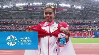 Athletics Womens 10000m Final Victory Ceremony(Day 6) | 28th SEA Games Singapore 2015