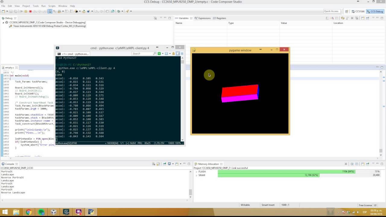 CC2650 SensorTag MPU9250 DMP eMPL 6 12 - Bluetooth® forum