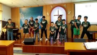 伊屯循理教會至本堂募款—主日學、青少年獻詩
