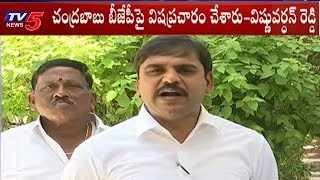 BJP Leader Vishnu Vardhan Reddy On AP Politics | Delhi | TV5 News