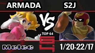 Video Genesis 4 SSBM - [A] Armada (Peach) Vs. Tempo | S2J (Captain Falcon) Smash Melee Winners Ro16 download MP3, 3GP, MP4, WEBM, AVI, FLV Juni 2017