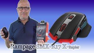 OYUNCU MOUSE FİYAT PERFORMANS  CANAVARI | Rampage SMX-R17 X-RAPIER