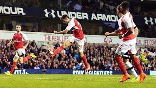 HIGHLIGHTS ● COC ► Tottenham 1 vs 2 Arsenal - 23 Sep 2015   English Commentary