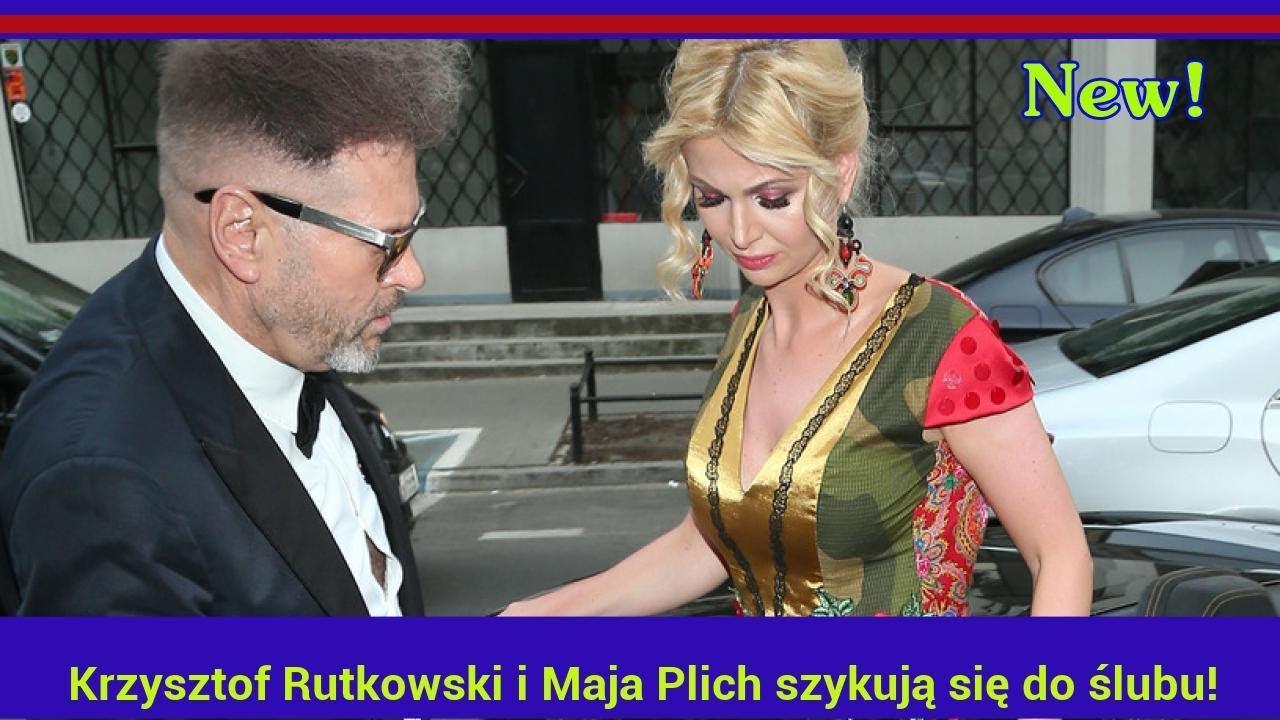 Krzysztof Rutkowski i Maja Plich szykują się do ślubu! Znamy szczegóły