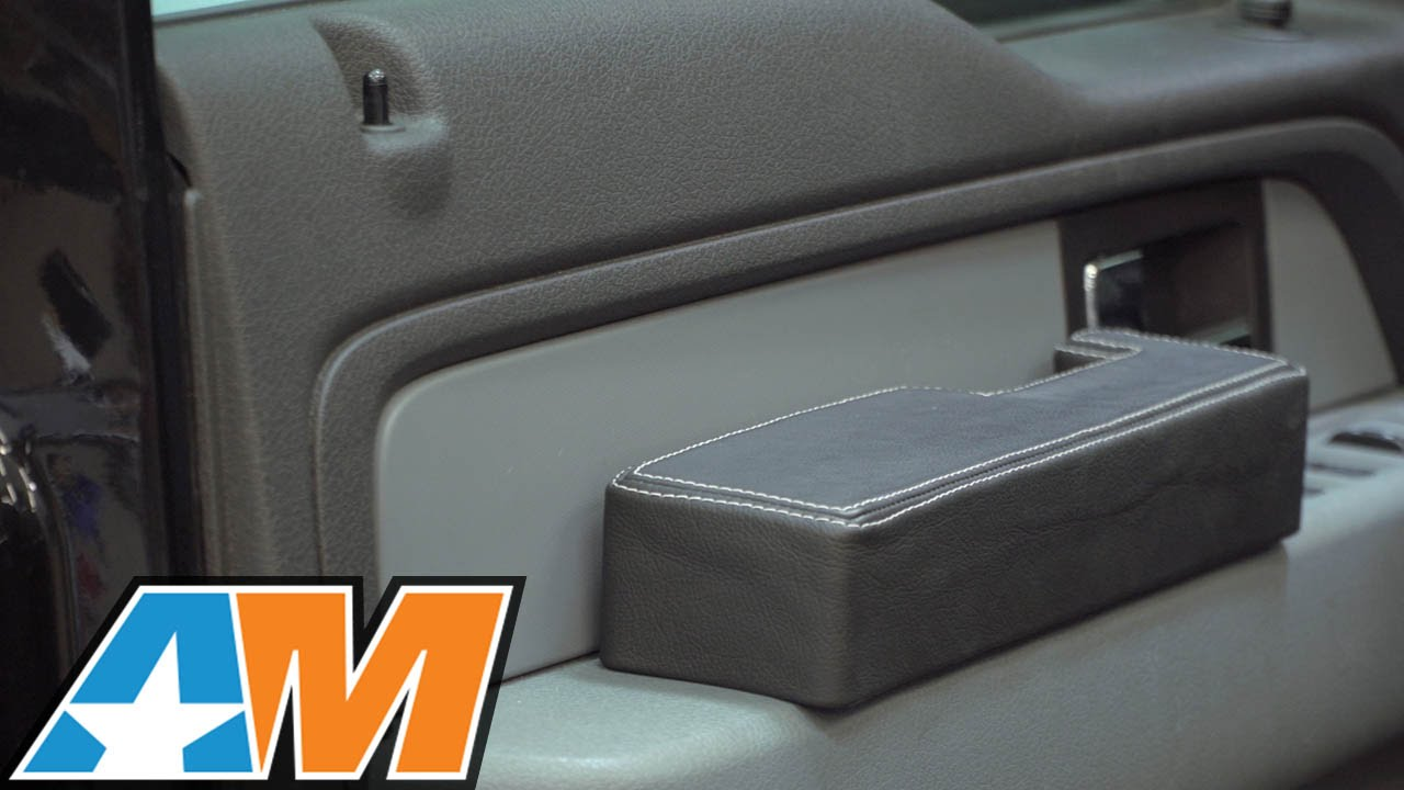 2009-2014 F-150 SnapRest Armrest Cover Review & Install