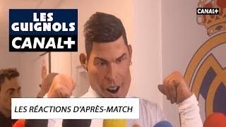 PSG - Real Madrid les réactions d'après-match  - Les Guignols - CANAL+