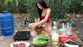 Video Viral Video Cooking-Cambodian Villager Food- Cute Girl Fry Chicken With Chili download MP3, 3GP, MP4, WEBM, AVI, FLV Desember 2017