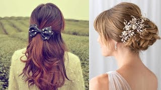 CUTE & EASY Hairstyles , Most Beautiful Hairstyles |How To Style For Own Hair #5