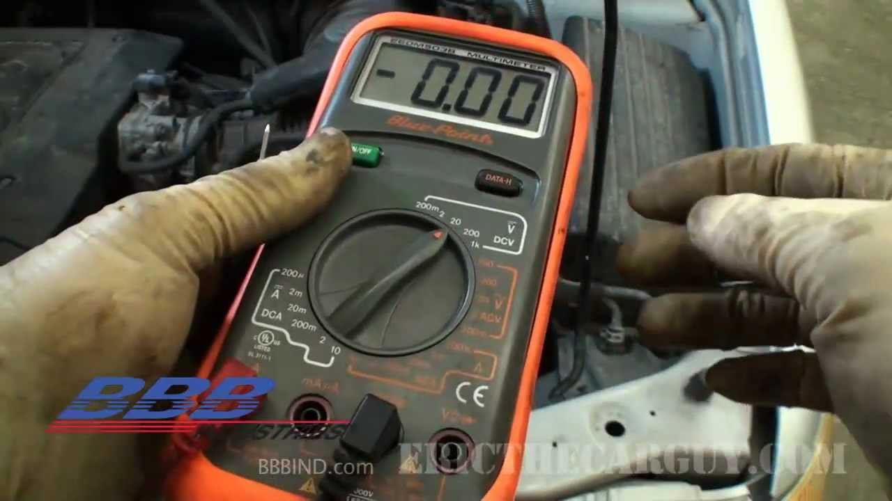How To Test And Find A Parasitic Battery Drain Key Off Youtube Car Fuse Box With Multimeter