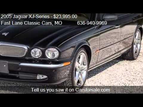 2005 Jaguar Xj Series Super V8 4dr Sedan For Sale In St Cha Youtube