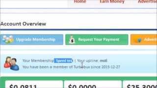Апгрейд Оплата статуса в TurboBux