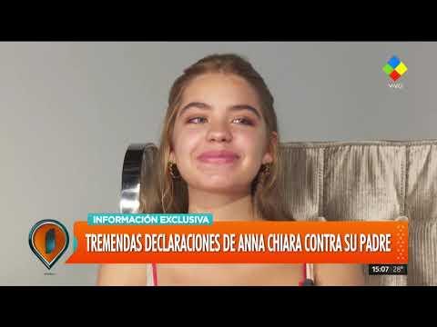 """Terrible confesión de Anna, hija de Andrea del Boca: """"Sentí el asco de mi padre"""""""