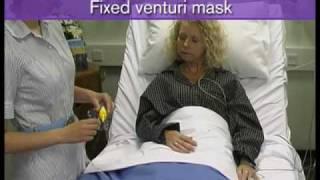 Oxygen mask. Venturi.