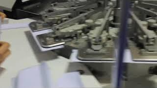 Durkopp adler 971 01 обточування манжет на сорочці
