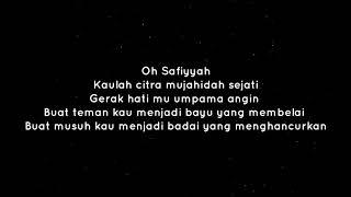 Safiyyah lirik -Darwish feat Fareast