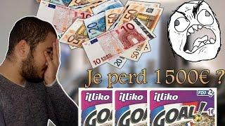 JE GRATTE DES JEUX - JE PERD 1500€ ?