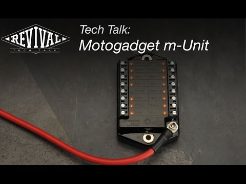 motogadget m unit v 2 revival cycles tech talk youtube. Black Bedroom Furniture Sets. Home Design Ideas