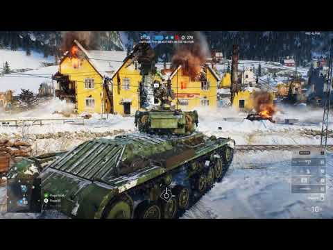 Battlefield V Tank Gameplay featuring Sturmpanzer and Valentine!   BATTLEFIELD LIFE