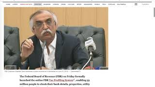fbr-launches-fbr-tax-profiling-systemtax-dosti-reporting22-06-2019