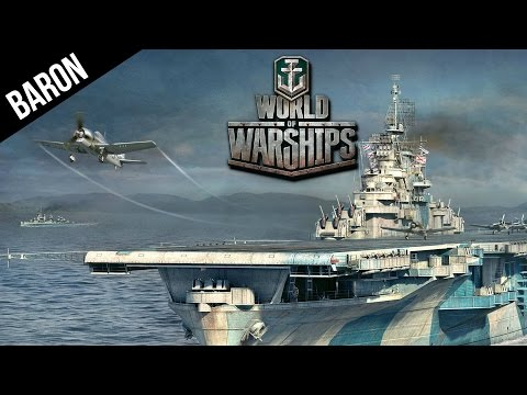 World of Warships Aircraft Carrier Gameplay - How To Use a Carrier in WOWS CBT